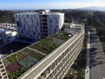 France Mandates Green Roofs, Electric Vehicles Also Cut Heat Island Effect